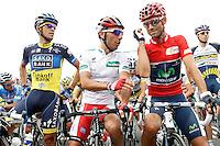 during the stage of La Vuelta 2012 between Barakaldo and Valdezcaray.August 21,2012. (ALTERPHOTOS/Acero) /NortePhoto.com