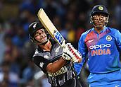 10th February 2019, Seddon Park, Hamilton, New Zealand; 3rd T20 International, New Zealand versus India;    Colin de Grandhomme
