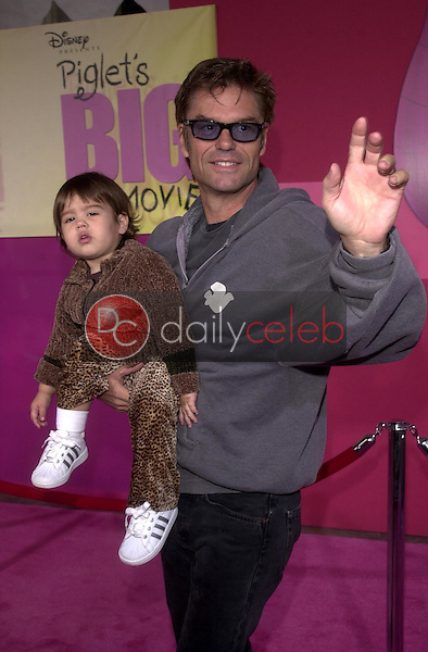 Harry Hamlin and his daughter Amelia