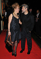 Lorraine Ashbourne and Andy Serkis at the BAFTAs fundraising gala dinner & auction, The savoy Hotel, The Strand, London, England, UK, on Friday 08th February 2019.<br /> CAP/CAN<br /> ©CAN/Capital Pictures