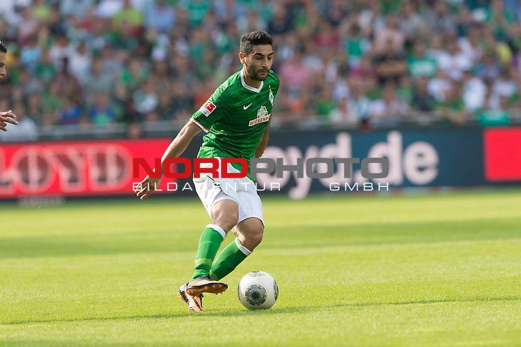 17.08.2013, Weser Stadion, Bremen, GER, 1.FBL, Werder Bremen vs FC Augsburg, im Bild<br /> <br /> <br /> Foto &copy; nph / Kokenge