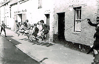 Local children play skipping in Killarney in the 1930's.. Photo: macmonagle.com archive