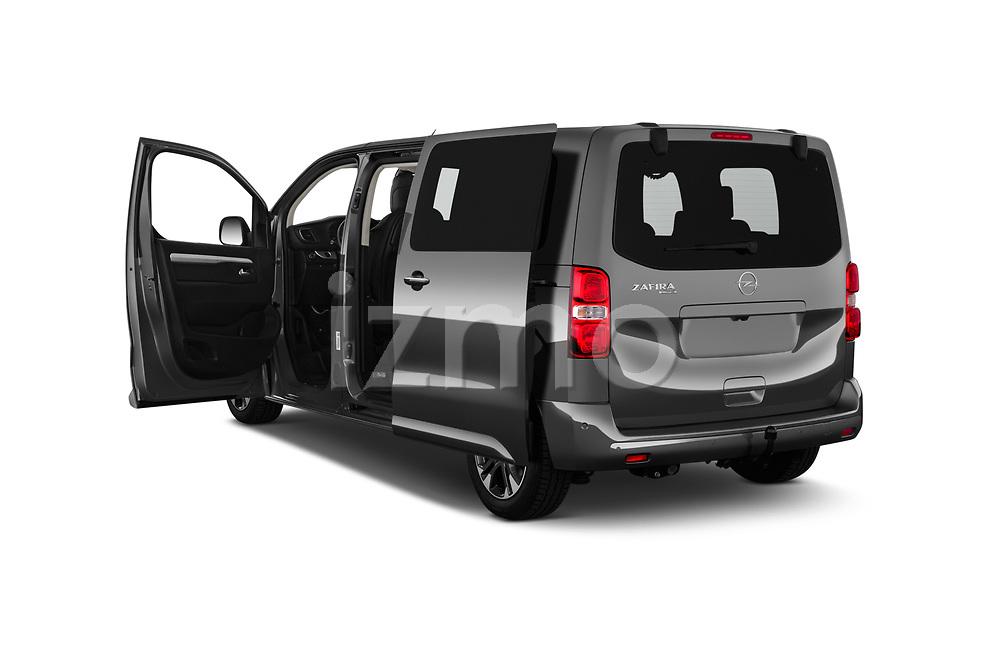 Car images close up view of a 2020 Opel Zafira-Life Business-Innovation 5 Door Mini Van doors
