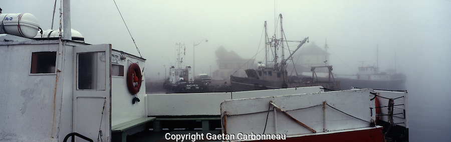 Boats in St-Pierre et Miquelon, France