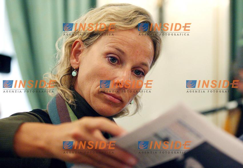 Roma 11/01/2006 Direzione Nazionale dei DS<br />Nella foto il deputato dei DS  Giovanna Melandri <br />Photo Serena Cremaschi Insidefoto