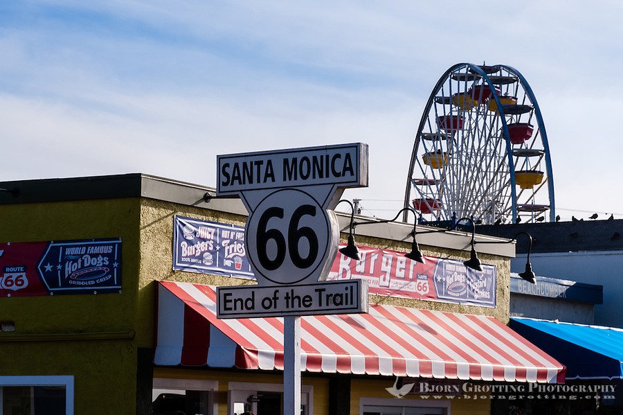 United States, California, Santa Monica. Santa Monica is a beachfront city in western Los Angeles County. Santa Monica Pier.