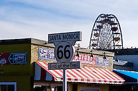 United States, California, Santa Monica. Santa Monica is a beachfront city in western Los Angeles County. Santa Monica Pier.