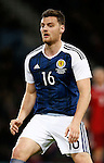 Chris Martin of Scotland during the Vauxhall International Challenge Match match at Hampden Park Stadium. Photo credit should read: Simon Bellis/Sportimage