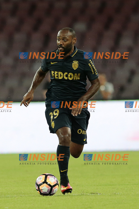 Vagner Love Monaco,  <br /> Napoli 07-08-2016 Stadio San Paolo <br /> Football Calcio friendly Amichevole partita precampionato 2016/2017 Napoli - Monaco<br /> Photo Cesare Purini / Insidefoto