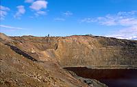 Berkeley Pit Copper Mine, Butte, Montana,....Open Pit Mine