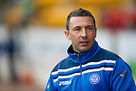 St Johnstone v Rangers....05.04.11 .Derek McInnes.Picture by Graeme Hart..Copyright Perthshire Picture Agency.Tel: 01738 623350  Mobile: 07990 594431