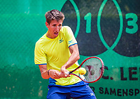 The Hague, Netherlands, 09 June, 2018, Tennis, Play-Offs Competition, Yannick Mertens (BEL)<br /> Photo: Henk Koster/tennisimages.com