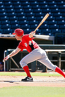 Todd Frazier - Cincinnati Reds 2009 Instructional League. .Photo by:  Bill Mitchell/Four Seam Images..