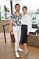 "LOS ANGELES, USA. June 11, 2019: Luis Gerardo Mendez & Shioli Kutsuna at the photocall for ""Murder Mystery"" at the Ritz Carlton, Marina del Rey.<br /> Picture: Paul Smith/Featureflash"