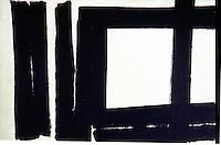 American Painters:  Franz Kline--Painting #7, 1952. Oil on canvas.  Solomon R. Guggenheim Museum.