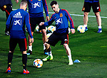 Spanish Gaya during the training of the spanish national football team in the city of football of Las Rozas in Madrid, Spain. March 18, 2019. (ALTERPHOTOS/Manu R.B.)