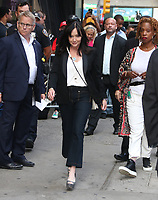 August  05, 2019.Shannon Doherty on Good Morning America to talk about new season of Beverly Hills 90210 in New York. August 05, 2019  <br /> CAP/MPI/RW<br /> ©RW/MPI/Capital Pictures