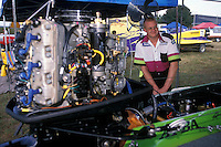 Wyatt Nelson Racing: crewman Randy Spitler. Altamonte Springs,FL 1998 (SST-120)