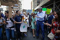 NEW YORK, NY - SEPTEMBER 20: New York Mayor Bill de Blasion attends a rally for action on climate change on September 20, 2019 in New York City. People world wide participate in a day of protest calling for urgent action to fight climate change.(Photo by Kena Betancur/VIEWpress)