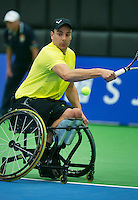 19-12-13,Netherlands, Rotterdam,  Topsportcentrum, Tennis Masters, Berry Korst (NED)<br /> Photo: Henk Koster