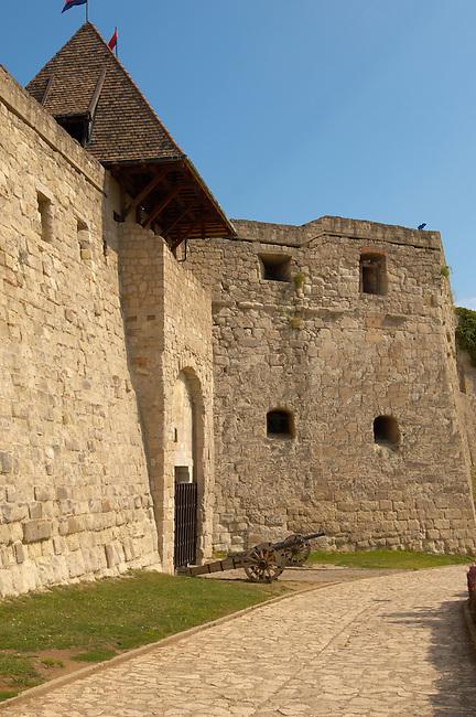 Eger Castle walls - Hungary