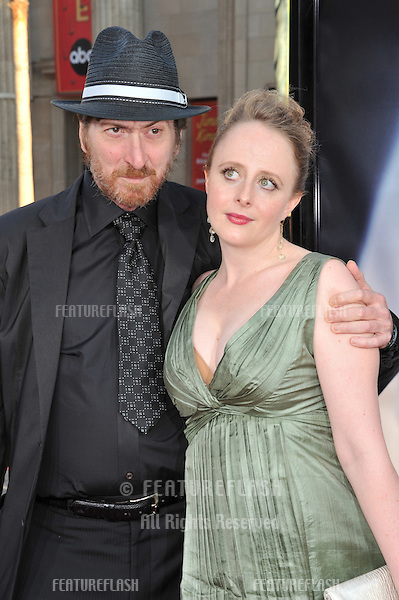 """Frank Miller & Kimberly Cox at the world premiere of """"The X-Files: I Want To Believe"""" at Grauman's Chinese Theatre, Hollywood..July 23, 2008  Los Angeles, CA.Picture: Paul Smith / Featureflash"""