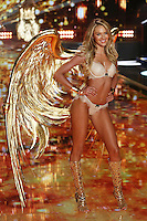 Candice Swanepoel on the runway at the Victoria's Secret Fashion Show 2014 London held at Earl's Court, London. 02/12/2014 Picture by: James Smith / Featureflash