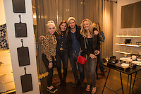 Alessandra Torresani, Tamara Goldstein, Sturgis Adams and Aurora Tower attend the Reservoir Celebrates One-Year Anniversary with Cocktail Event and Opening of Second Floor Home Shop on Nov. 19, 2016 (Photo by Inae Bloom/Guest of a Guest)