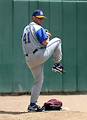 June 26, 2004:  Damian Moss of the Durham Bulls, International League (AAA) affiliate of the Tampa Bay Devil Rays, during a game at Dunn Tire Park in Buffalo, NY.  Photo by:  Mike Janes/Four Seam Images