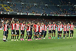 FC Barcelona's  and Athletic de Bilbao's  during Supercup of Spain 2nd match.August 17,2015. (ALTERPHOTOS/Acero)