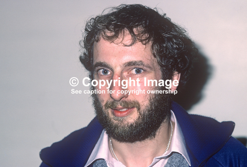 Jack Laffan, squash player, Irish International, 1981001000013JL..Copyright Image from Victor Patterson, 54 Dorchester Park, Belfast, United Kingdom, UK...For my Terms and Conditions of Use go to http://www.victorpatterson.com/Victor_Patterson/Terms_%26_Conditions.html
