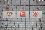 14.04.2018, BayArena, Leverkusen , GER, 1.FBL., Bayer 04 Leverkusen vs. Eintracht Frankfurt<br /> im Bild / picture shows: <br /> Banner Bayer Leverkusen vs. Eintracht Frankfurt<br /> <br /> <br /> Foto &copy; nordphoto / Meuter