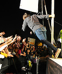 Allstar Weekend and Justin Bieber perform a free holiday concert at Citadel Outlets in Los Angeles, California on December 14,2009                                                                   Copyright 2009 DVS / RockinExposures