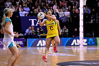 Diamonds&rsquo; Liz Watson in action during the International Netball Constellation Cup - NZ Silver Fans v Australia Diamonds at TSB Bank Arena, Wellington, New Zealand on Thursday 18 October  2018. <br /> Photo by Masanori Udagawa. <br /> www.photowellington.photoshelter.com