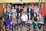 BIRTHDAY:Celebration were in full swing in the Shanty Bar, Ballyfinnane on Saturday night as James Lynch formly of Kerins Park, Tralee now Ballyfinnane, who celebrated his 50th birthday with his family and friends. (James is seated centre)