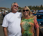 Jeff and Kerry Wikoff during the Hot August Nights Pre-Kickoff Party at the Bonanza Casino in Reno, Nevada on Sunday, August 6, 2017.