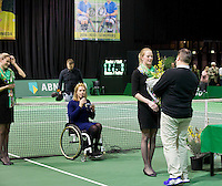 Februari 13, 2015, Netherlands, Rotterdam, Ahoy, ABN AMRO World Tennis Tournament, Esther Vergeer (NED)<br /> Photo: Tennisimages/Henk Koster