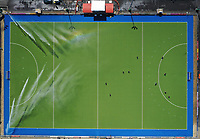 General view of TET hockey turf during the Olympic Qualifier Hockey match between the Blacksticks Men and Korea at TET Multisport Centre in Stratford, New Zealand on Saturday, 2 November 2019. Photo: Simon Watts / www.bwmedia.co.nz