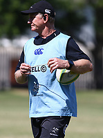Dick Muir as an attack and backline consultant of the Cell C Sharks during the cell c sharks pre season training session at  Growthpoint Kings Park ,22,01,2018 Photo by Steve Haag)