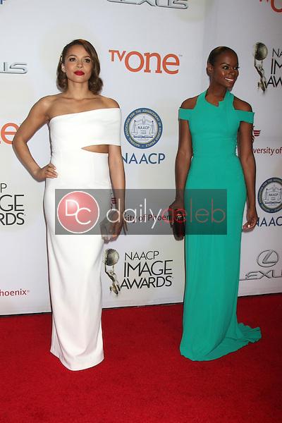 Carmen Ejogo<br /> at the 46th NAACP Image Awards Arrivals, Pasadena Convention Center, Pasadena, CA 02-06-15<br /> David Edwards/DailyCeleb.com 818-249-4998