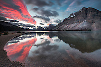 Sunrise, Bow Lake, Banff National Park