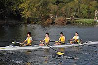 344 HAM .Reading Rowing Club Small Boats Head 2011. Tilehurst to Caversham 3,300m downstream. Sunday 16.10.2011