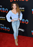LOS ANGELES, CA. March 11, 2019: Sofie Dossi at the world premiere of &quot;Dumbo&quot; at the El Capitan Theatre.<br /> Picture: Paul Smith/Featureflash