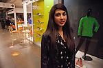 Greek student Ioanna Dereka,18, at a mall in Ioannina.
