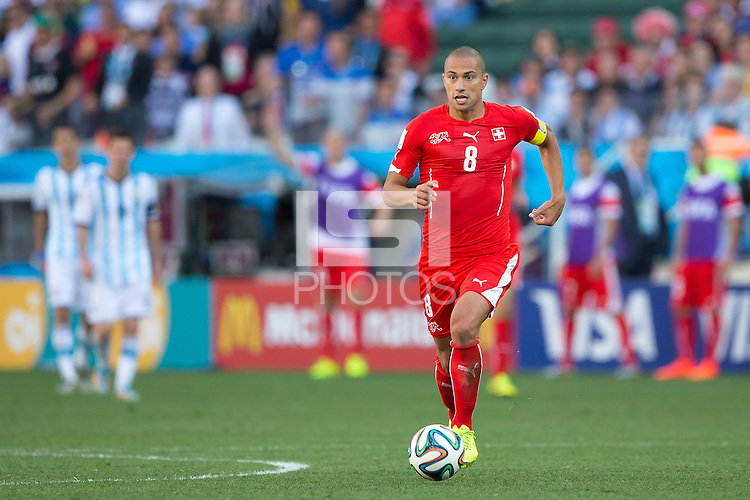 Gokhan Inler of Switzerland