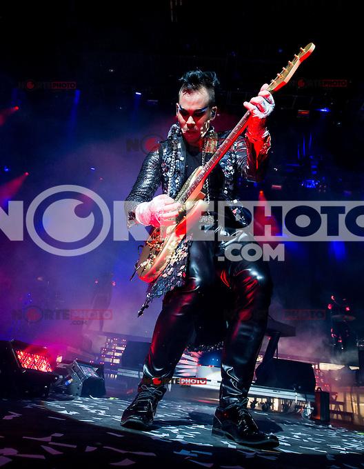LAS VEGAS, NV - April 9 : Empire Of The Sun performs at The Chelsea at The Cosmopolitan Of Las Vegas in Las Vegas, NV on April 9, 2014. © Kabik/ Starlitepics ***HOUSE COVERAGE***