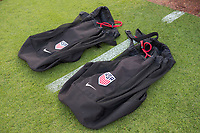 Jacksonville, FL - Thursday, April 05, 2018: Ball bags prior to a friendly match between USA and Mexico at EverBank Stadium.