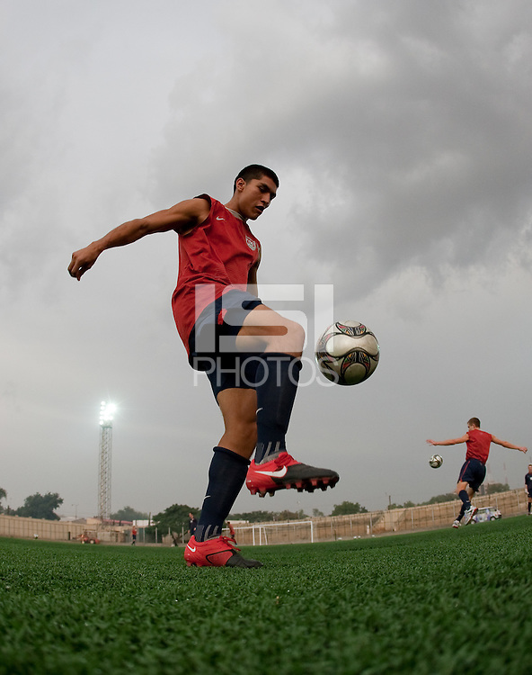 Carlos Martinez. U.S. Under-17 Men Training  Kano, Nigeria
