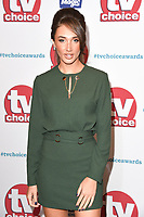 Megan McKenna<br /> arriving for the TV Choice Awards 2017 at The Dorchester Hotel, London. <br /> <br /> <br /> &copy;Ash Knotek  D3303  04/09/2017