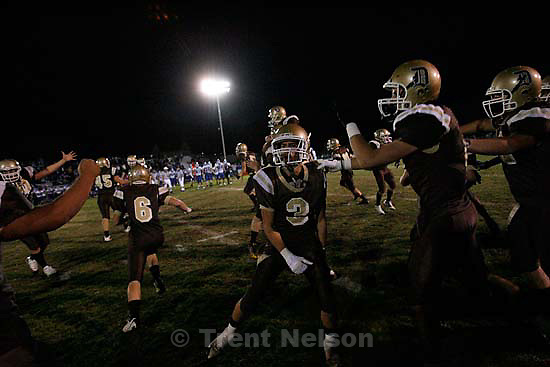 Davis defeats Pleasant Grove 17-9 in high school football playoff action, Friday, November 6 2009 in Kaysville.